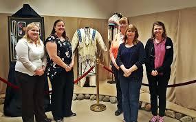 Msu Fashion Design Program Gpos Cathy Wagner And Jaime Huaman Visit A Montana Member