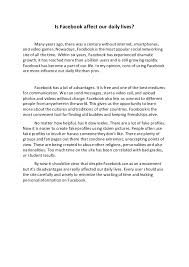 argumentative essay argumentative essay is facebook affect our daily lives many years ago there was a century out
