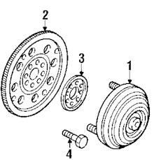 Genuine mazda flywheel bolt maz 9ya021047