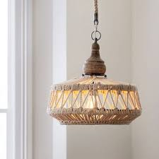pottery barn s rope chandelier