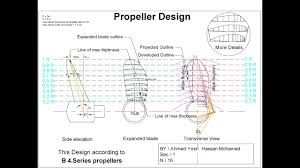 Marine Propeller Design Theory Propeller Drawing