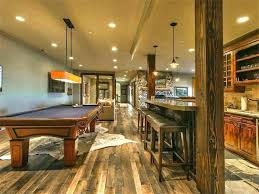 S Rustic Basement Ideas About On Bar Images Walls