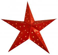 Weihnachtsstern Stern Papierstern Lichterkette