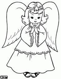 Small Picture angel coloring pages to print Christmas Angels Coloring Pages