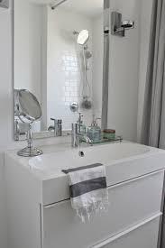 ikea bathroom remodel. Modern Jane Bathroom Renovation. Marble Hexagon And White Subway Tile. Ikea Godmorgon Vanity. Remodel