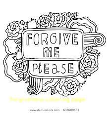 Forgiveness Coloring Page Coloring