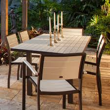 dining room table 36 x 72. polywood euro 36 x 72 in dining table - collection polywood® outdoor furniture collections room