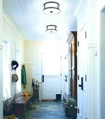 flush mount foyer light lighting semi