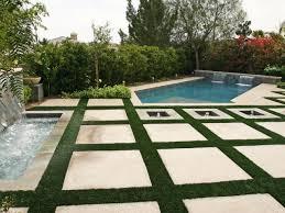 patio with square pool. Patio With Square Pool Photo - 4 I