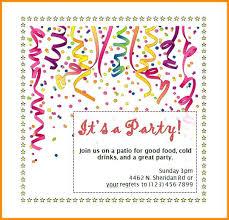Blank Birthday Invitation Templates For Microsoft Word 60 Free Diy
