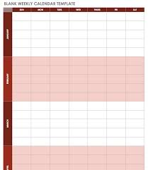 Printable Calendar Sample Unique Free Excel Calendar Templates
