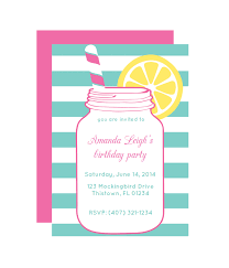 Mason Jar Party Invitation Chicfetti