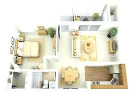 one bedroom bungalow plans. Interesting Bungalow One Bedroom House Plans Floor 2 With Garage 1  Apartment 4   With One Bedroom Bungalow Plans D