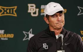 art briles deletes his twitter after being fired by baylor bso art briles
