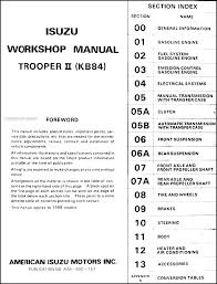 1988 isuzu trooper radio wiring diagram 1988 wiring diagrams online