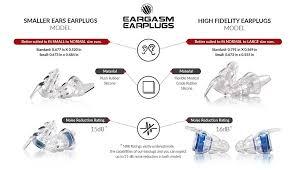 Ear Plug Size Chart Sizing Info And Faq Eargasm