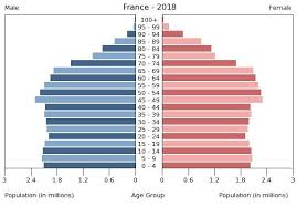 France Age Structure Demographics