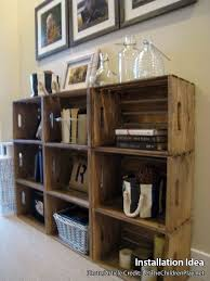 Best 25+ Crate shelves ideas on Pinterest | Crates, Crate bookshelf and  Crate furniture