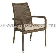 alexander rose san marino stacking armchair