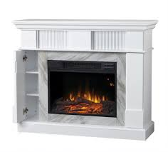 home decorators collection electric fireplace with 45 inch mantel