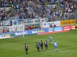 Bundesliga 20 märz um 14:00. Chemnitzer Fc Fc Hansa Rostock Hollenreiter Flickr
