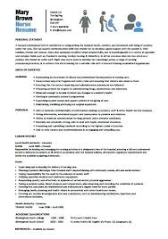 Resume Templates Nursing Stunning Best Nursing Resume Templates Nursing Resume Template Nursing Best