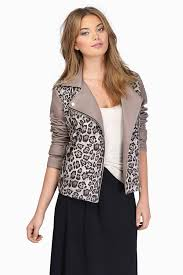 fur jackets taupe multi the wild side jacket