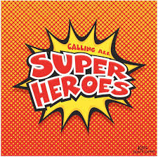 Free Birthday Posters Superhero Printables