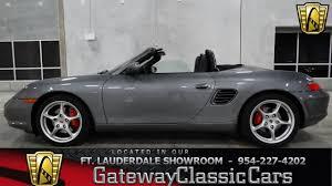 2004 Porsche Boxster S - Gateway Classic Cars of Fort Lauderdale ...