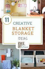 11 best blanket storage ideas