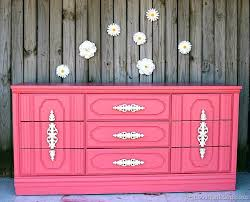painted baby furniture. Coral Nursery Dresser Petticoat Junktion Furniture Makeover 1. Painted Baby K
