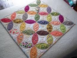 217 best Orange Peel Quilts images on Pinterest | Kid quilts ... & Little Orange Peel Mini Adamdwight.com