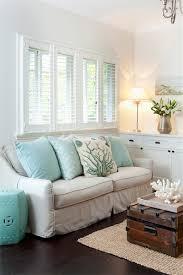 Aqua Accent Table - Cottage - living room - Porchlight .