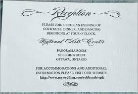 Dance Invitation Ideas Wedding Reception Only Invitation Wording Plus Dance Dinner And