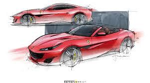 Si può affermare che le forme automobilistiche hanno subito diverse variazioni nel corso del tempo e delle varie epoche che le hanno viste protagoniste: Ferrari Wins The Red Dot Best Of The Best Auto Design Supercar Design Car Sketch Futuristic Cars