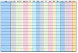 Bill Payment Organizer Template Free Printable Bill Organizer Template