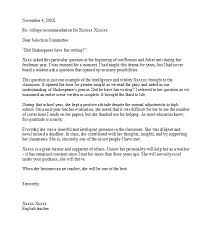 Art Teacher Recommendation Letter 50 Amazing Recommendation Letters For Student From Teacher