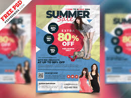 Free For Sale Flyer Template Fashion Sale Flyer Template Psd By Psd Freebies On Dribbble
