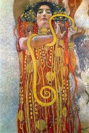 gustav klimt university of vienna ceiling paintings cine detail showing hygieia 1900 1907 2d klimt vienna and cine