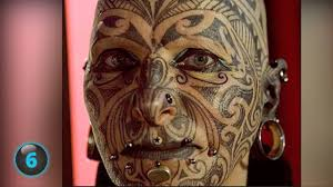 тату на лице 31 фото татуировки эскизы значение мужских и женских