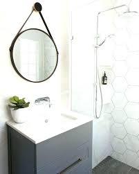 Hexagon Shower Tile Walls Best Bathroom Ideas On White Home Improvement Contractors Black