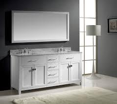 White Wood Bathroom Vanity Bathroom Vanity Mirror Bathroom Bathroom Furniture Interior