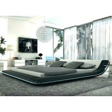 Low Platform Bed King Bed Frame Silver Crushed Velvet Low Bed Frame ...