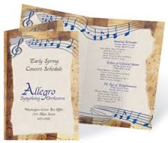Event Programs Event Programs Dont Have To Be Boring Paperdirect Blog