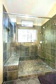 showers gl block window for shower in bathroom ideas 6 with
