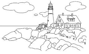 Coloring Pages Of The Beach Beach House Coloring Pages Coloring