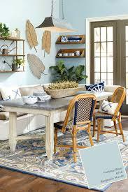 Benjamin Mooreu0027s Fantasy Blue In Ballard Designs Room From Catalog