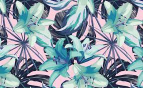 Neon Flowers Wallpaper for Walls