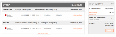 Aeroplan Miles Chart A Beginners Guide To Redeem Aeroplan Miles For Award
