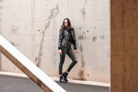 autumn essentials zara studded leather jacket leather ankle boots zign by bulgarian fashion blogger